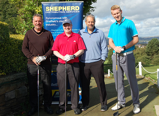 The Shepherd's golf team