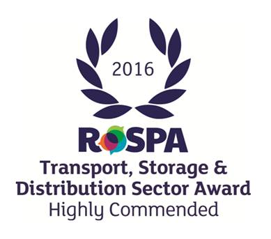 ROSPA Highly Commended July 2016